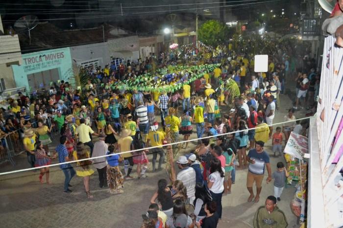 Festival de Quadrilhas de Rua animaram fim de semana em Monteiro