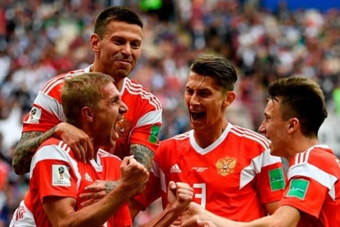 Rússia vence Arábia Saudita com 2ª maior goleada em estreias de Copa