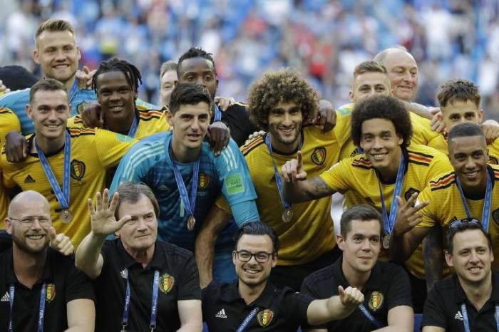 Bélgica vence a Inglaterra e tem sua melhor participação em Copas