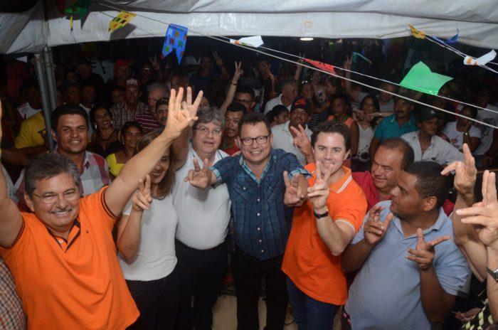 Prefeitos de Taperoá e Assunção reforçam apoio à pré-candidatura João Azevêdo