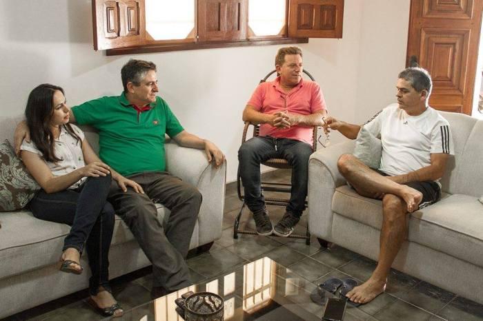 Pré-candidato, Dr. Romualdo recebe apoio do ex-candidato a prefeito de Serra Branca