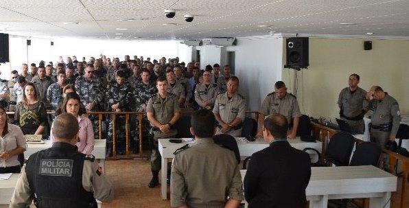 11ºBPM realiza conclusão do curso de Direção Defensiva e Evasiva na cidade de Monteiro