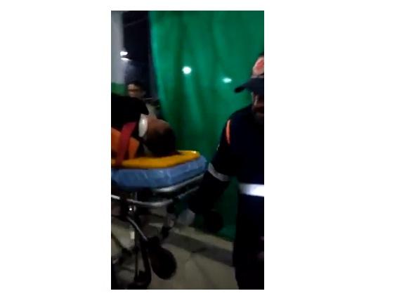 Acidente durante concurso de quadrilhas em Soledade deixa dançarinos feridos