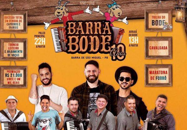 Festa do Barra Bode completa 10 anos com várias atrações e prêmios em mais de 21 mil