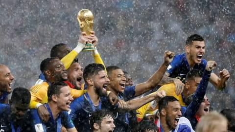 França vence a Croácia e garante o bi na Copa do Mundo