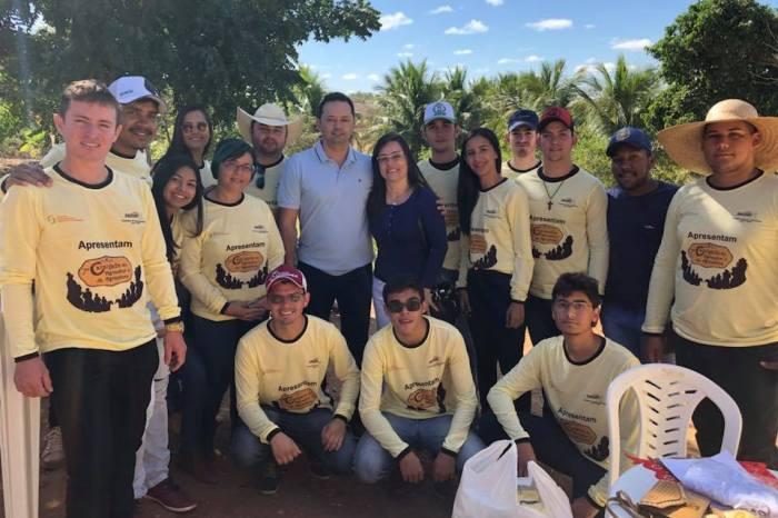 Éden Duarte participa de Cavalgada realizada pelo CDSA em Sumé