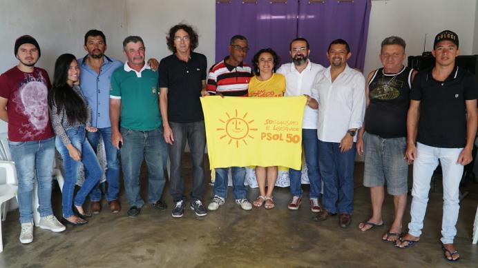 Novos diretórios do PSOL são criados no Cariri paraibano com presença de pré-candidatos