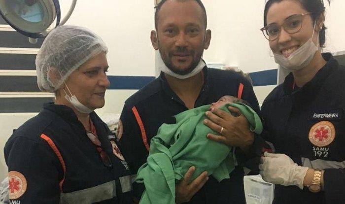 Serviço do Atendimento Móvel de Urgência de Cabaceiras realiza parto dentro de ambulância