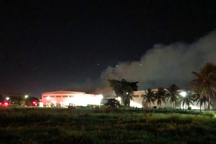 Sem feridos: Incêndio destroi fábrica de algodão em Santa Rita