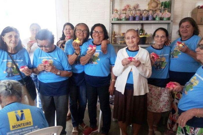 Serviço de Convivência para idosos retorna às atividades na cidade de Monteiro