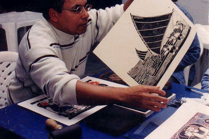 Marcelo Soares abre exposição de xilogravuras no Cabo Branco