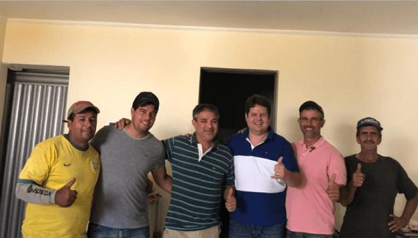 Ex-vice-prefeito de Ouro Velho adere ao grupo político de Dr. Júnior