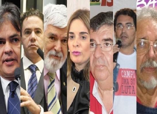 Senado: Cássio lidera com 12,98%, Vené tem 10,80% e Luiz Couto 8,43%