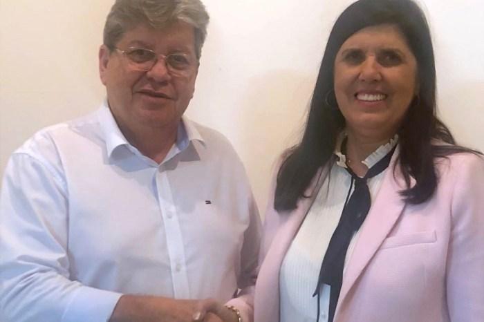 João Azevêdo anuncia Lígia Feliciano como sua companheira de chapa