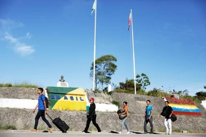 Brasil e outros três países farão reunião sobre êxodo venezuelano