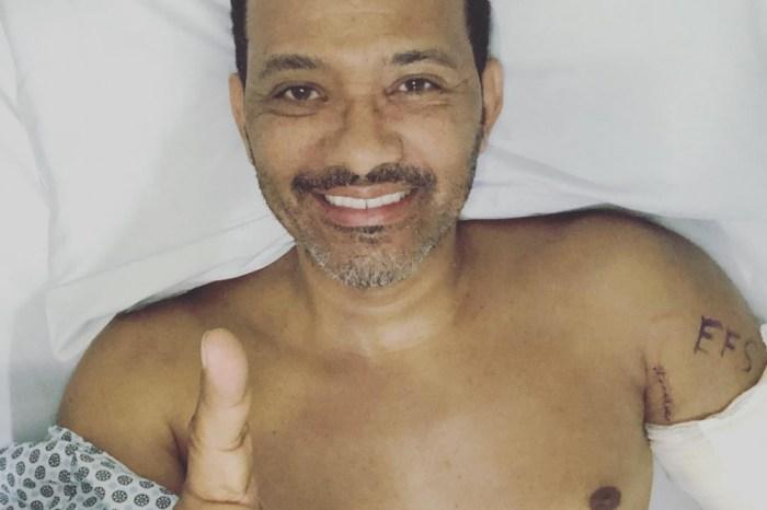 Cantor do Art Popular sofre queda e é submetido a cirurgias