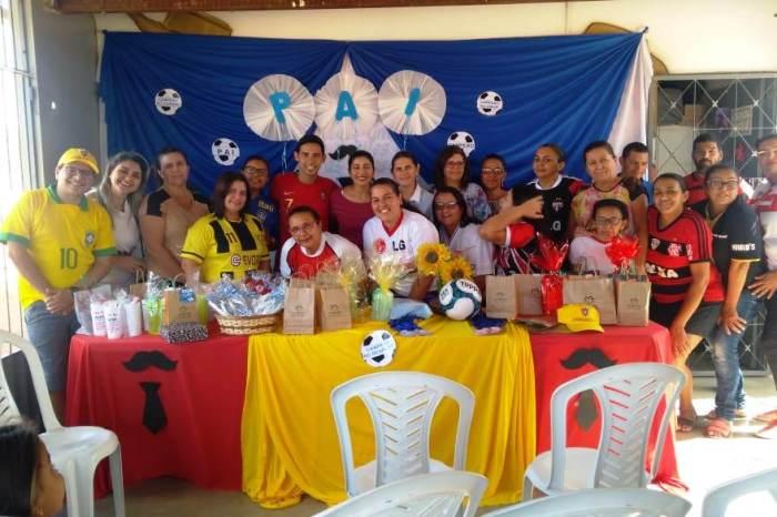 Dia dos pais é comemorado nas Escolas Municipais da zona rural da cidade de Monteiro