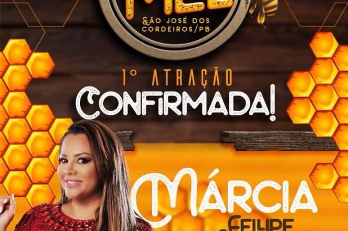 Confirmado: Márcia Felipe será atração do Festival do Mel 2018 em São José dos Cordeiros