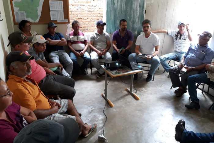 PROCASE apresenta equipe do PATAC que irá prestar assistência técnica para agricultores de SSU