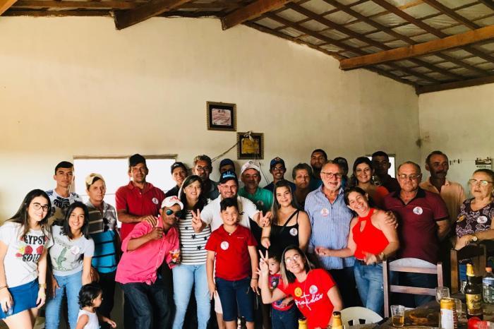 Carlos Batinga recebe novas adesões nos municípios de Amparo e Serra Branca