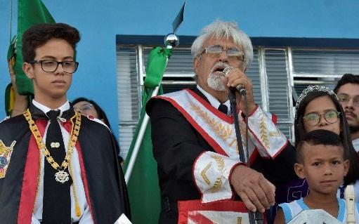 10º Desfile Cívico Maçônico é realizado em Camalaú na comemoração da Semana da Pátria