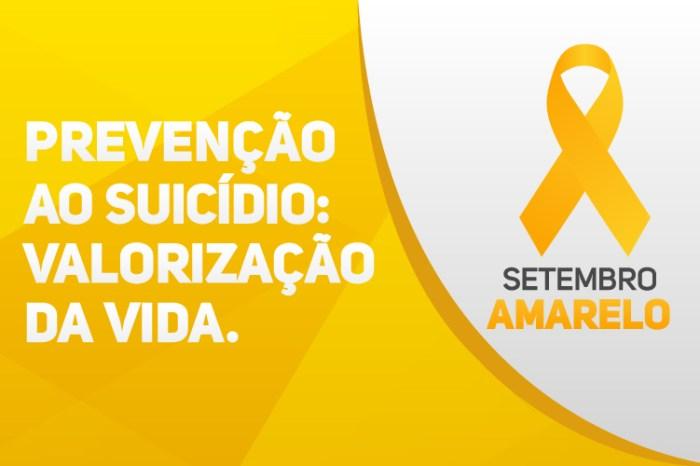 """Setembro Amarelo: Gurjão realizará o 2° """"é preciso saber viver, todos pela vida"""""""