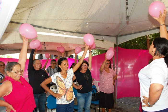 """Programação do Outubro Rosa é encerrada em Monteiro com atividades do """"Dia D"""""""