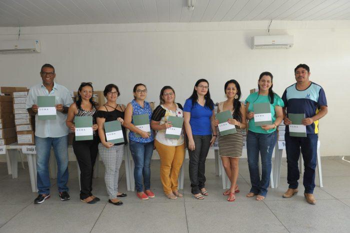 Professores de Monteiro participam de reunião para aplicação das provas do Soma