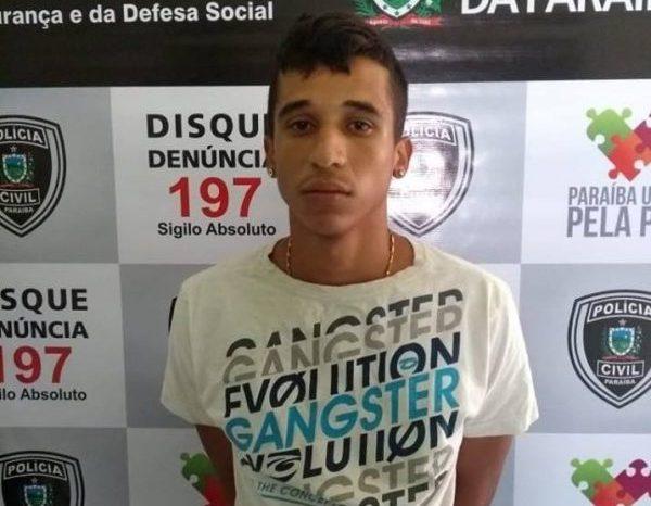 PC prende acusado de matar catador de lixo a pedradas em São José dos Cordeiros