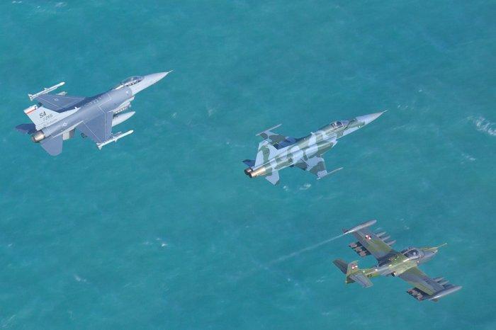 Brasil realiza exercícios de combate aéreo com 13 países, incluindo EUA