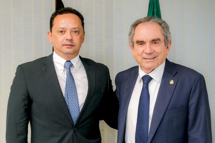 Prefeito Éden Duarte busca recursos para a cidade de Sumé em Brasília