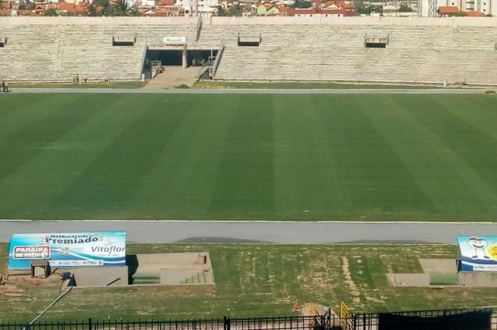 Novo gramado do 'Amigão' será entregue dia 20 de dezembro