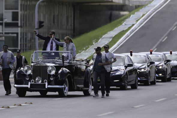 Ensaio da posse de Bolsonaro tem desfile em carro aberto