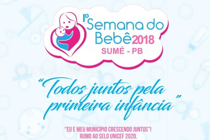 Assistência Social de Sumé realiza Primeira Semana do Bebê