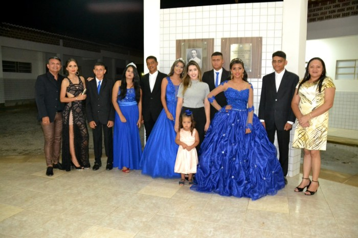 Prefeita Anna Lorena participa de festa de concluintes em Cacimba de Cima