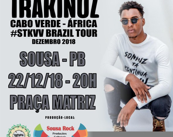 'OCUPAR & RESISTIR' Grupo africano se apresenta em Sousa