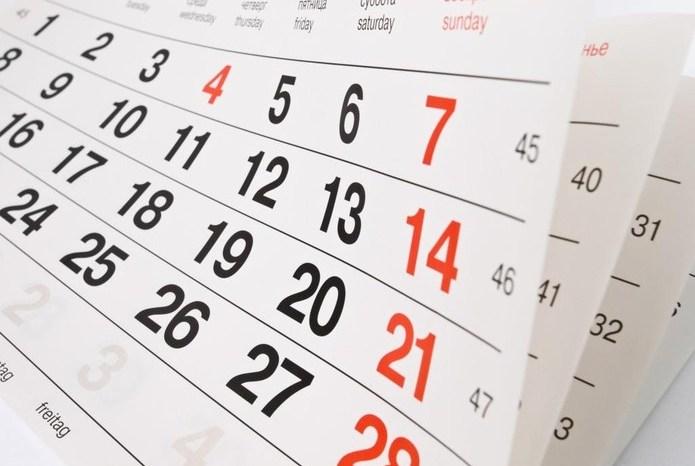 2020 terá vários feriados. Veja quais são e já se programe