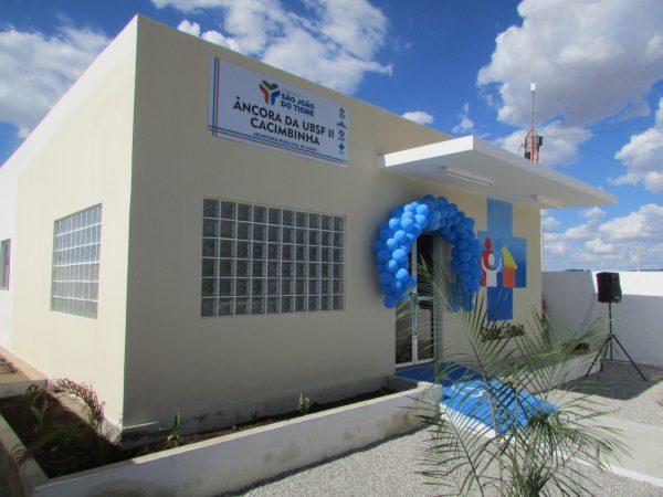 Zona rural de São João do Tigre tem nova UBS com investimento em torno de meio milhão