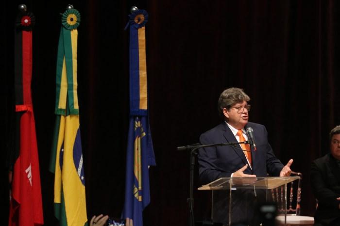 Discurso de posse do governador João Azevêdo