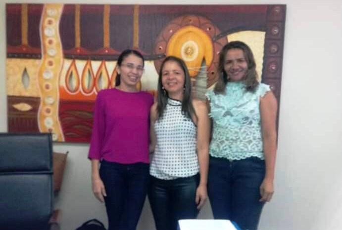 Secretárias de Desenvolvimento Social de Monteiro participam de reunião na Capital