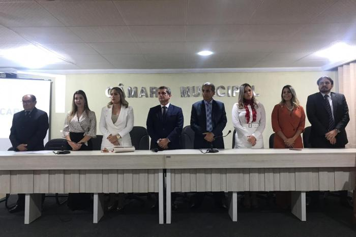 OAB-PB empossa nova diretoria da Subseção do Cariri para o triênio 2019/2021