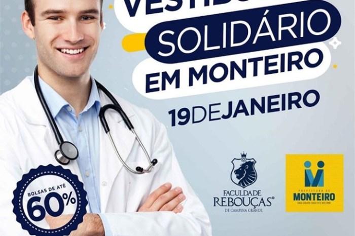 Prefeitura de Monteiro oferece Vestibular Solidário em parceria com faculdade