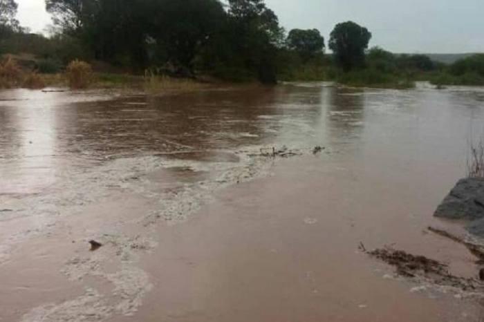 Com chuvas no Cariri, águas das chuvas chegam ao espelho d'água de Boqueirão