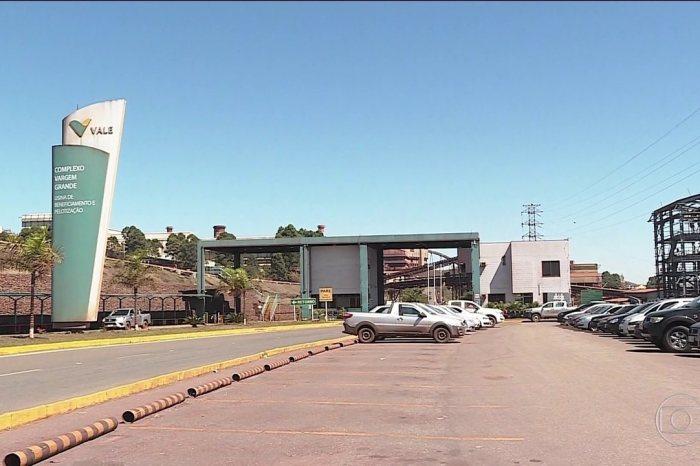 Movimentação de talude em mina da Vale chega a 44,7 cm/dia