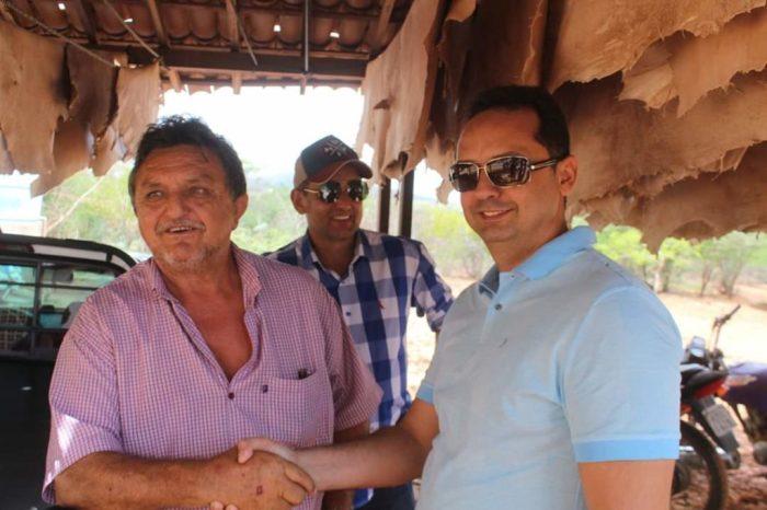 Lideranças de Sumé participam de visita da ministra na região e pedem fábrica de ração animal