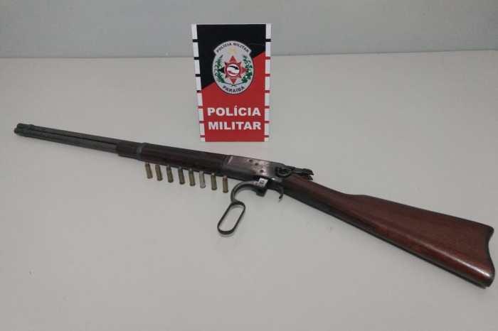 Polícia apreende armas de fogo em Monteiro e outras seis cidades paraibanas