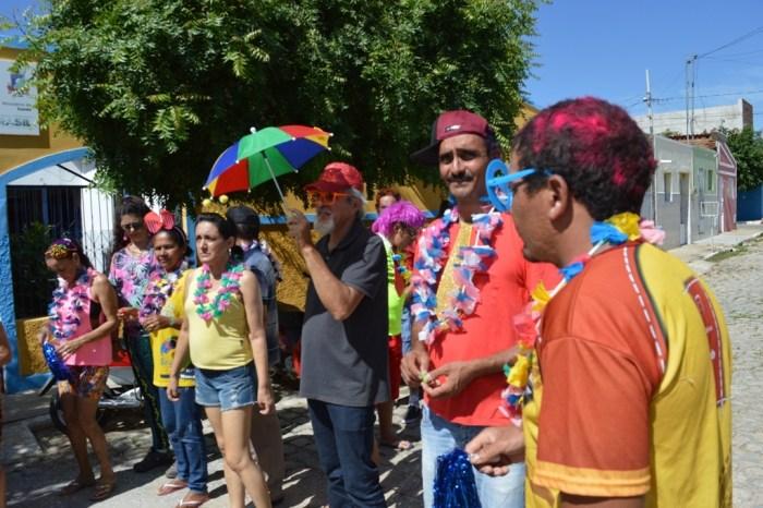 Equipe do Caps de Sumé realiza festa de Carnaval para usuários