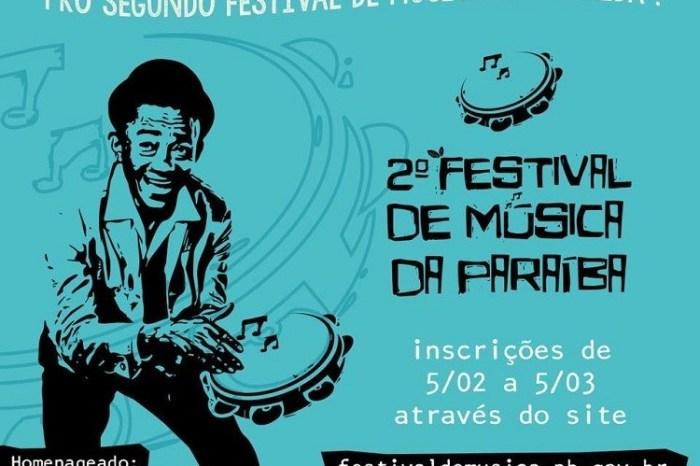 I Festival de Música da PB sorteia ordem de participação nas eliminatórias