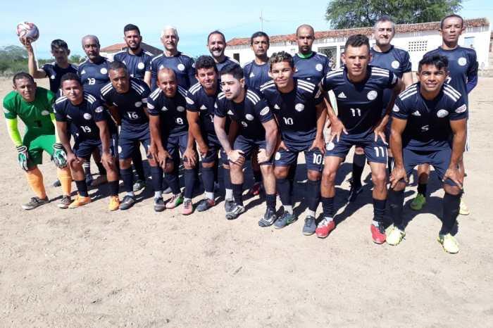 Veteranos do Ajax de São Sebastião do Umbuzeiro realizam amistoso contra Macapá de Monteiro