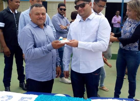 Prefeito Dalyson Neves celebra sucesso da Corrida do Jegue, em Zabelê